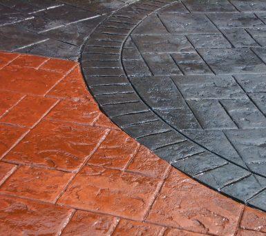 Scule beton amprentat