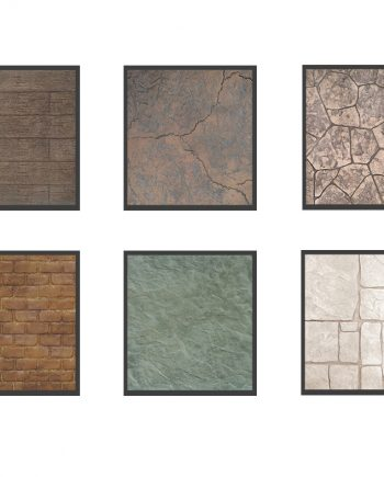 matrite beton amprentat
